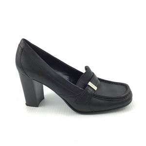 TOMMY HILFIGER Tommy Girl Black Mary Jane Heels